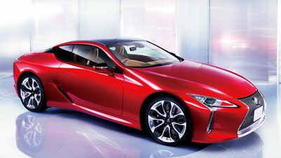 """LC500 """"S package""""(ラディアントレッドコントラストレイヤリング.jpg"""